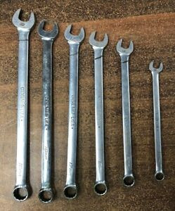 Snap On Usa Oexlm Extra Long Wrench Set 11 14 16 17 18 19 Metric Oexlm710b