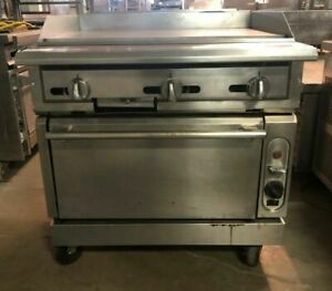 Vulcan Griddle With Convection Oven