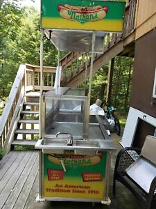 2011 Custom Nathan s Hot Dog Vending Concession Cart For Sale In Pennsylvania