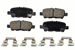 Disc Ceramic Brake Pad Set Rear Fits Infiniti Nissan