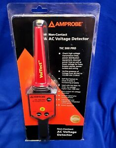 Amprobe Tic 300 Pro Non contact Low high Voltage Detector With Case New