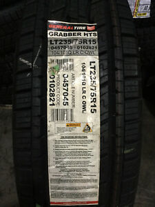 1 New Lt 235 75 15 Lrc 6 Ply General Grabber Hts Tire