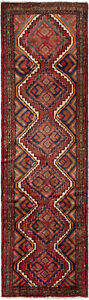 Hand Knotted Carpet 2 4 X 8 5 Traditional Vintage Wool Rug