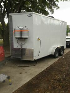 2019 7 X 14 New Food Concession Trailer Mobile Kitchen For Sale In Florida