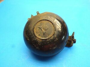 Vintage Hac 60 Hi Horn Tested Good 12vt With Mount Bracket bolt Studebaker