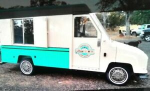 Utilimaster Stepvan Used Shaved Ice Truck For Sale In California