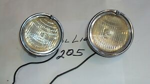Vintage Cowl Lights Marmon Franklin Stutz Chevrolet Etc