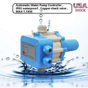 Automatic Electronic Switch Control Unit Water Pump Pressure Controller Us