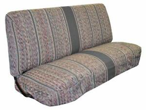Saddle Blanket Seat Cover Truck Front Bench For Chevrolet Dodge Heavy Duty Gray