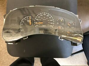 2000 01 02 Chevy Silverado tahoe Speedometer Dash Gauge Cluster Oem At 4 Speed