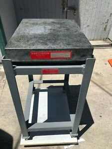 Precision Granite Co B 73 18 x24 x3 Surface Plate 3 Adjustable Height Stand