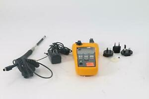 Fluke 975 Airmeter Indoor Air Quality Tester Hvac With Accessories
