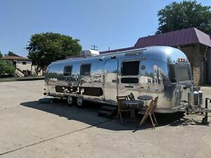 Vintage Airstream Mobile Coffee Shop Concession Trailer For Sale In Ohio