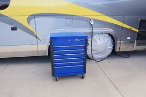Snapon 32 Six drawer Compact Roll Cart royal Blue Tool Box Krsc326fpcm