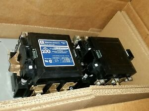 Mc 0 274 22 Telemecanique 100 Amp 3 Phase 208 220v Transfer Switch Contactor
