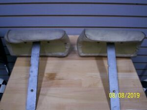 1972 Chevelle Bench Seat Headrests