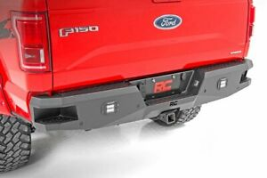 Rough Country Heavy Duty Rear Bumper Leds Fit 2015 2019 Ford F150 2 Led Cubes