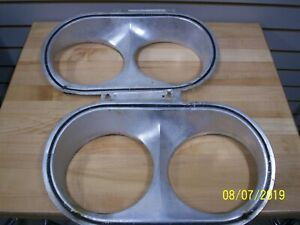 1963 Plymouth Headlamp Bezels