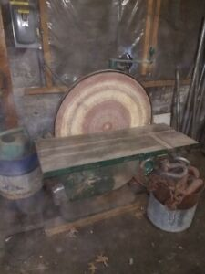 30 Inch Oliver Machinery Disc Sander 5 Hp 220 480 Volt Great Condition