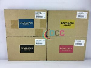 Oem Xerox Docucolor 240 Cmyk Developer Set 675k17
