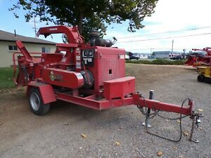 Used 2014 Morbark M15rx 15 Wood Chipper