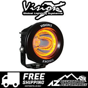 Vision X 3 7 Optimus Universal Led Driving Amber Light 10w 1052lm 9907185