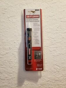 Craftsman Non contact Voltage Tester Sound And Light Indicators With Flashlight