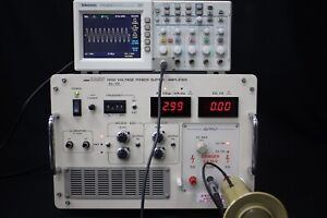 Nf As 124 4500v High Voltage Power Supply Amplifier