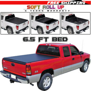 Roll Up Tonneau Cover For 1999 2007 Chevy Silverado 1500 Accessories 6 5ft Bed