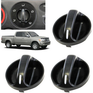 3x Replacement A c Heater Panel Control Knob For 00 06 Toyota Tundra 559050c010