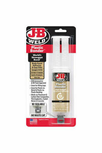 J b Weld Plastic Bonder 0 85 Oz High Strength Industrial Adhesive 15 Min 50133