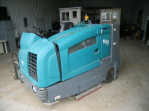 Tennant M20 Floor Sweeper scrubber Combo Reconditioned Free Shipping