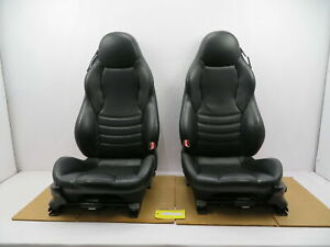 98 02 Bmw Z3 M Roadster E36 1087 Black Power Leather Heated Sport Seats