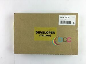 Oem Xerox Yellow Developer Docucolor 240 260 675k18020