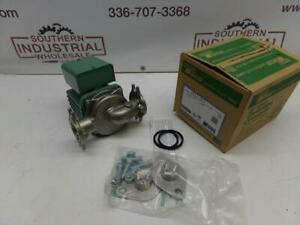 New Taco 0013 sf3 1 6hp 115v 3250rpm 125psi Ss Hot Water Circulator Pump