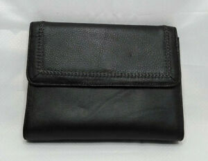 Franklin Covey Jean Chatzky Classic 7 Rings Planner Binder Black Leather