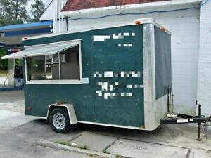 Mobile Kitchen Food Concession Trailer For Sale In South Carolina