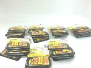 1600 32 Packs Of 50 Flags 3m Post it Sign Here Yellow 1 Red Arrow 680 9