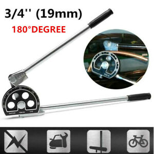 Manual Tube Bender 3 4 For Plumbing Gas Refrigeration Copper Aluminum Pipe