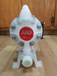 Aro Ingersoll Rand Pd05p ars 1 2 double Diaphragm Pump In Excellent Working Cond