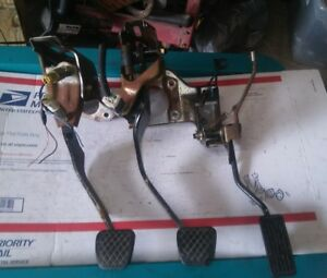 96 00 Civic Ex si 5 Speed Clutch Pedal Set Gas Brake Mt Mamual Swap Ek Eg Em1 99