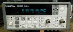 Hp 53132a Universal Frequency Counter W opt 001 Tested And Calibrated