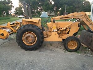 Ford 445a Super Duty Diesel Tractor loader