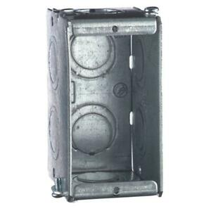 Steel City Gangable New Work Metal Electrical Switch And Outlet Box 20 Per