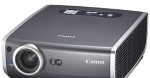 3500 Lumens Home Theater Lcd Hd Projector 1080i 720p Excellent Cannon Sx6