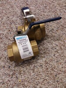 2 1 1 2 Nibco Bronze Ball Valve Full Port