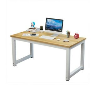 Wood Computer Desk Pc Laptop Table Workstation Home Office Study Furniture 1 5cm