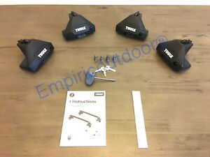 New Thule Clamp Evo Thule One Key System Free Expedited Ship