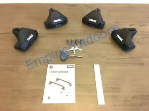 New Thule Evo Clamp 710501 Thule One Key System 450400 Free Expedited Ship