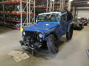 Manual Transmission Out Of A 2014 Jeep Wrangler 3 6l With 41 858 Miles
